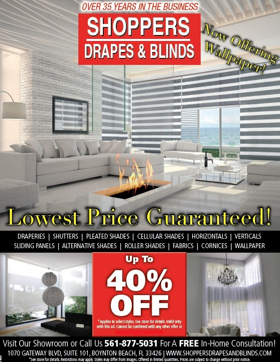 shoppers drapes and blinds shoppersdrapesandblinds yelp we can come to your home and offer you our services boynton beach blinds drapes window treatments delray beach